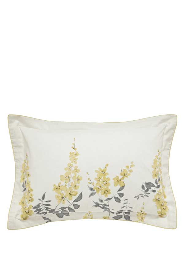 Sanderson Home Wisteria Blossom Oxford Pillow Cases