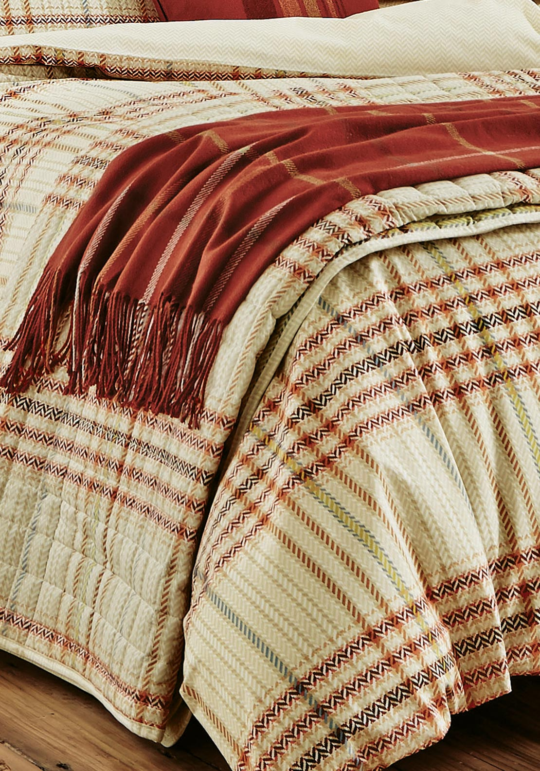 Series by Helena Springfield Kipton Woven Throw, Check