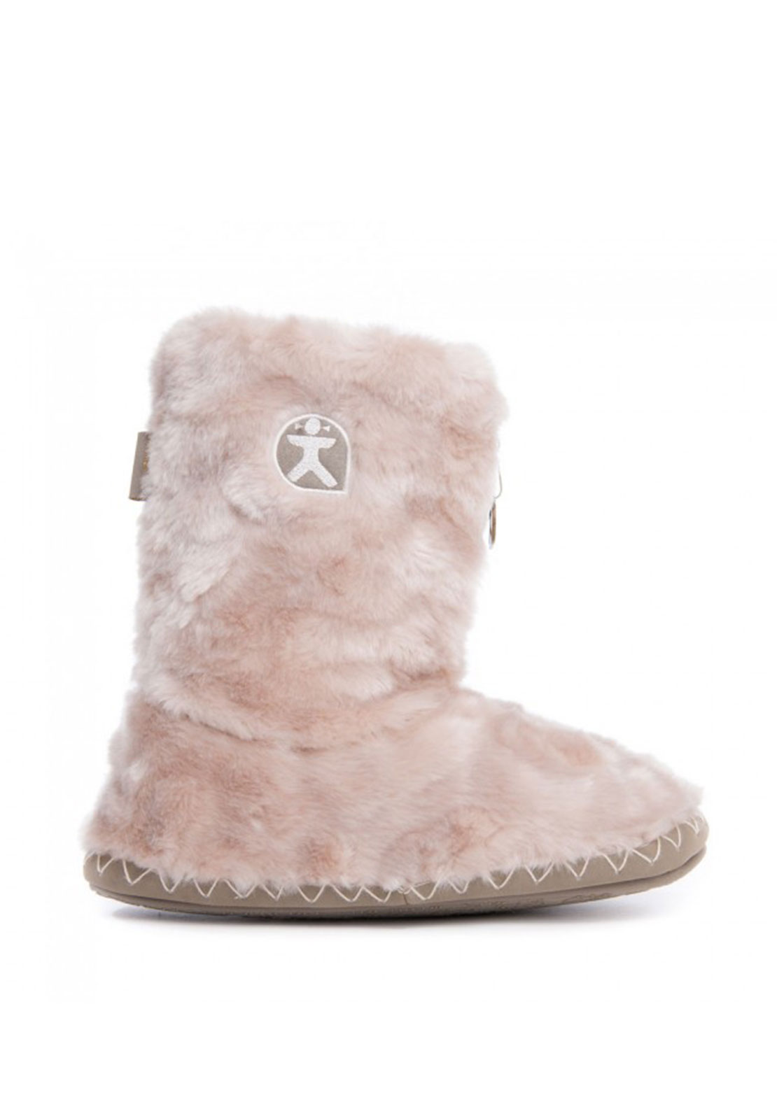 Bedroom Athletics Cole Slipper Boots, Marshmallow