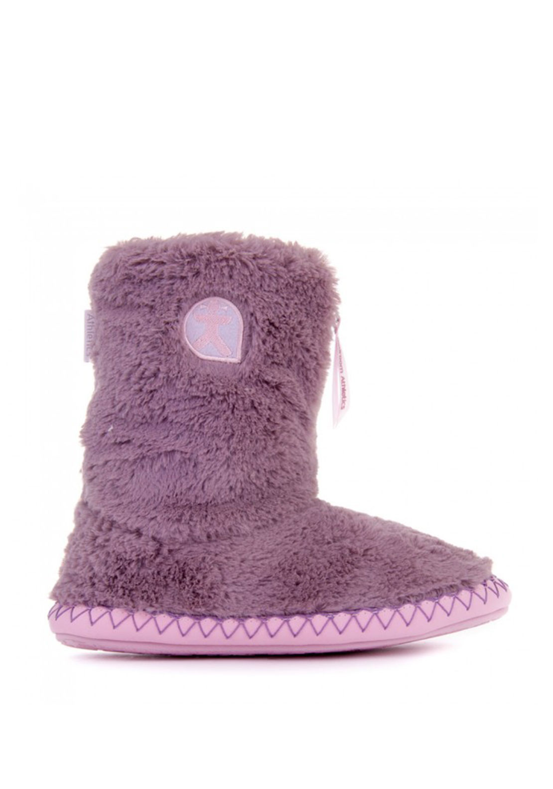 Bedroom Athletics Monroe Slipper Boots, Purple