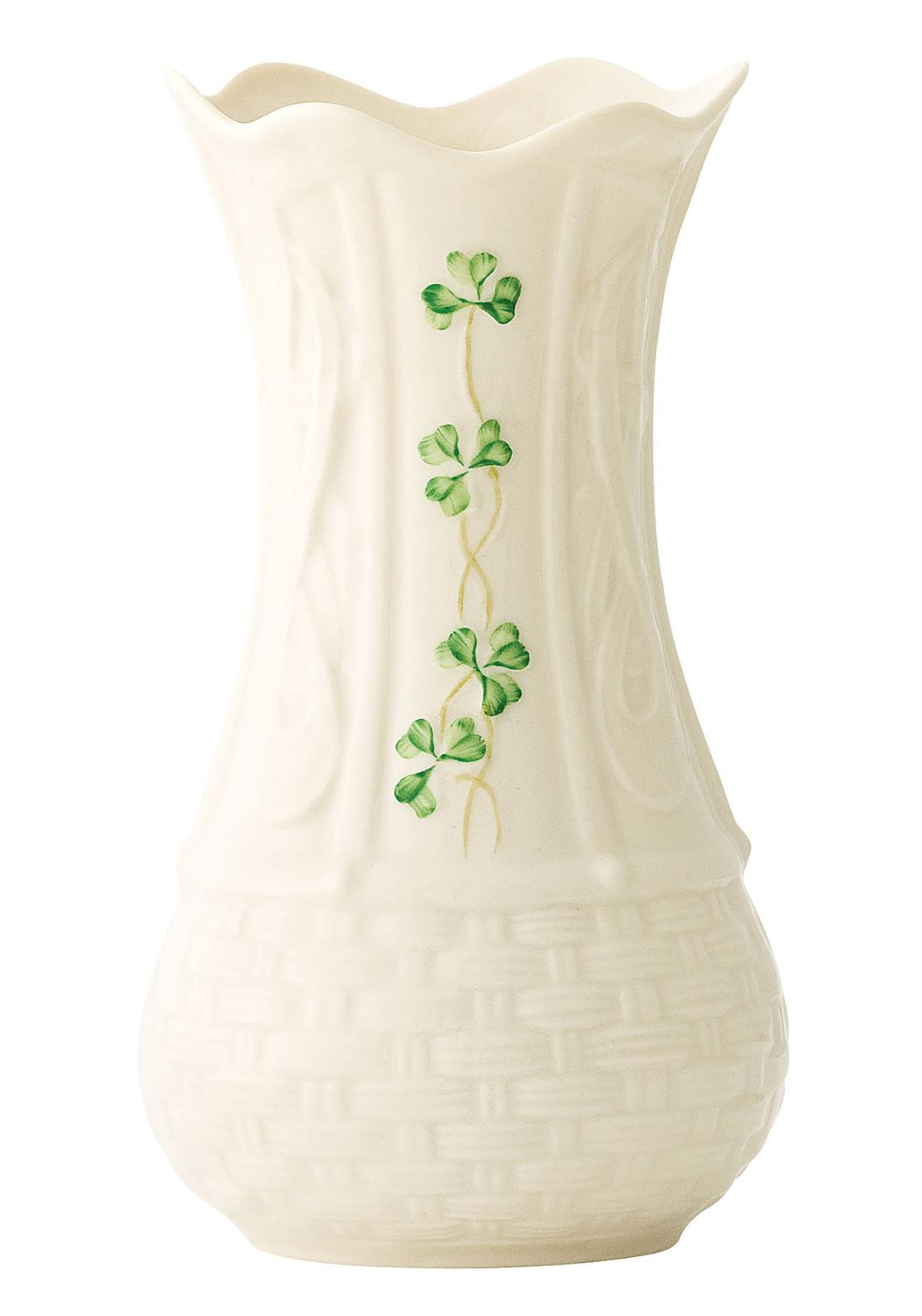 Belleek Kells Vase Ornament, 7in