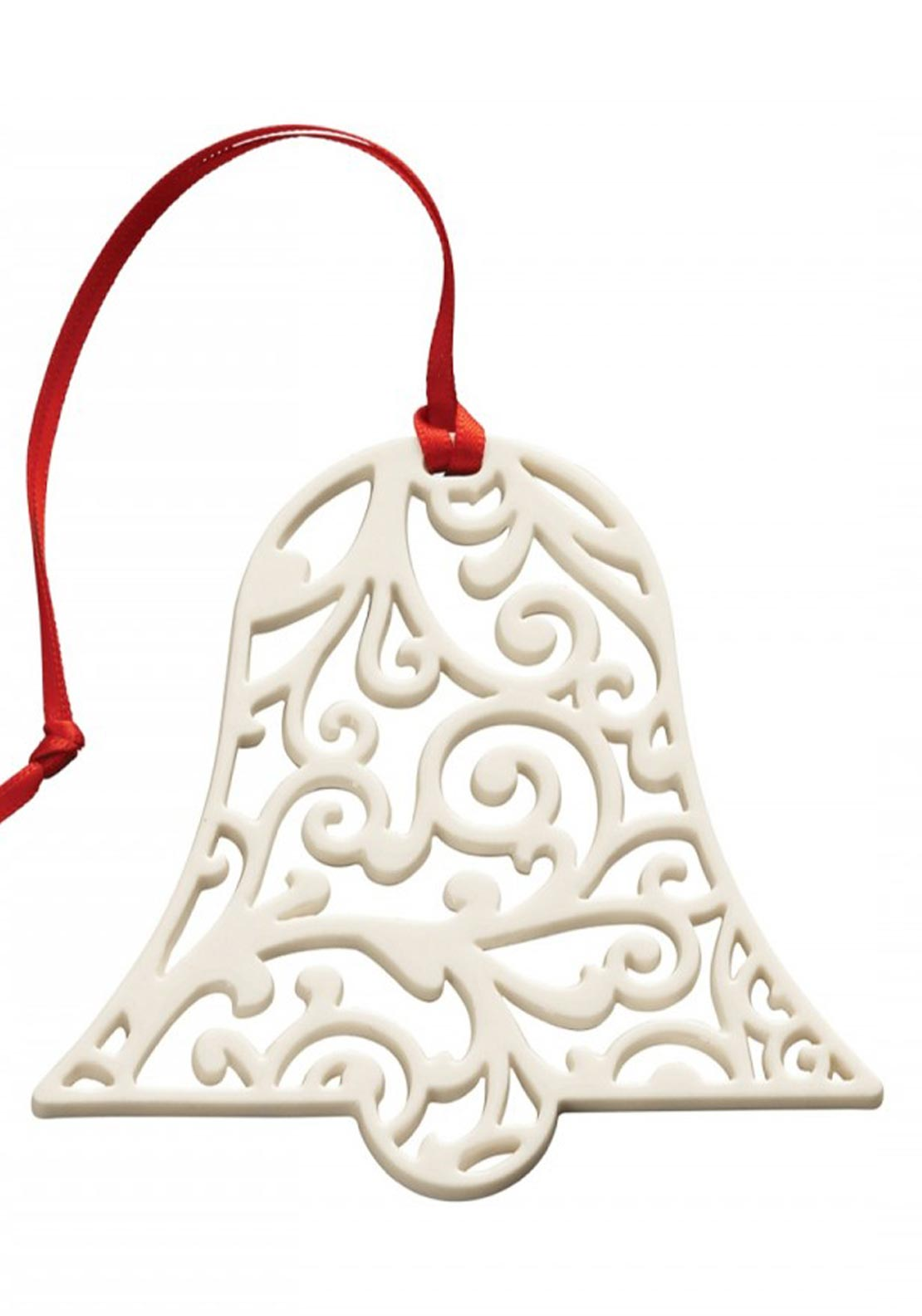 Belleek Living Christmas Hanging Bell  Decoration Ornament
