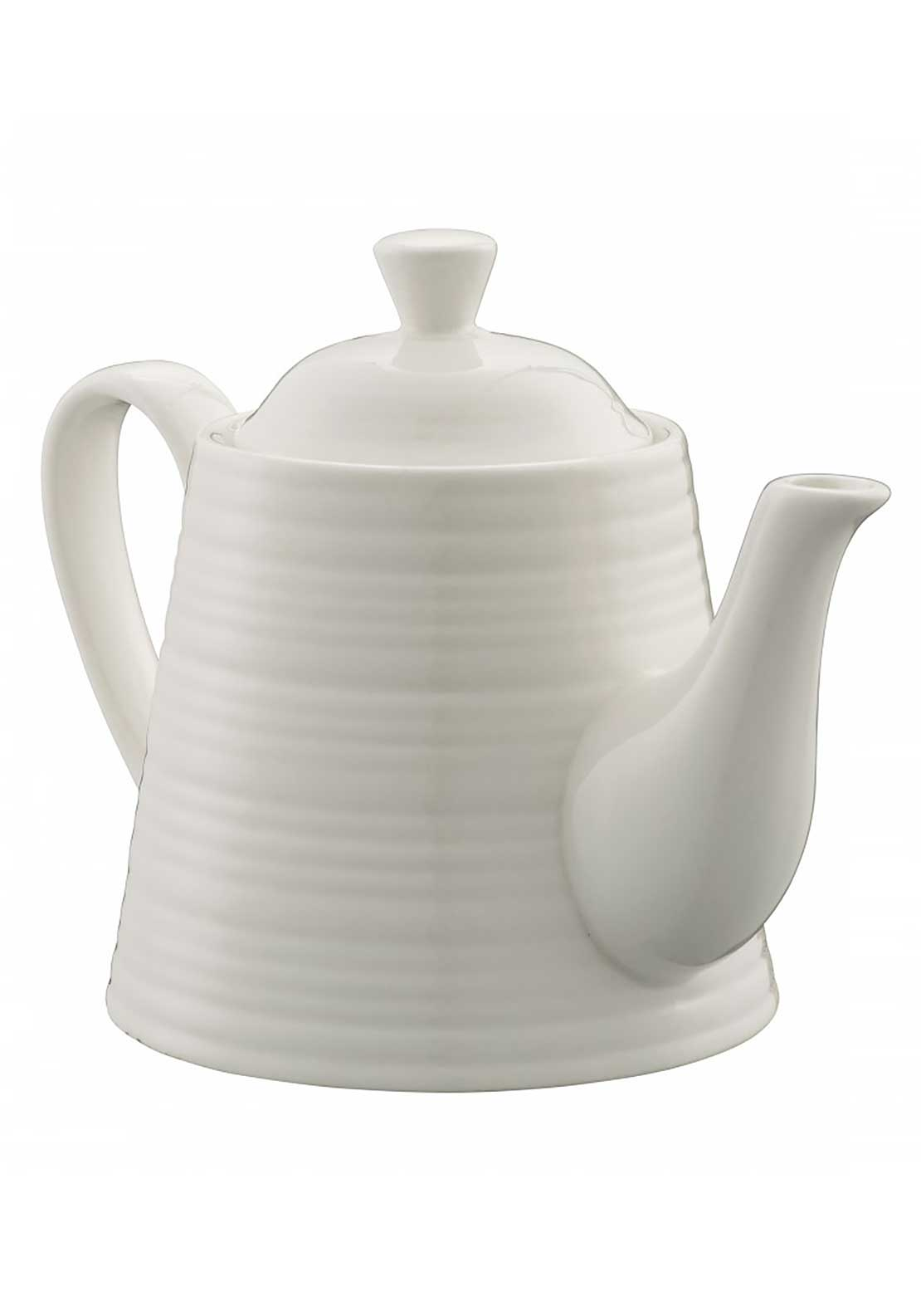 Belleek Living Casual Dining Ripple Tea for One Teapot