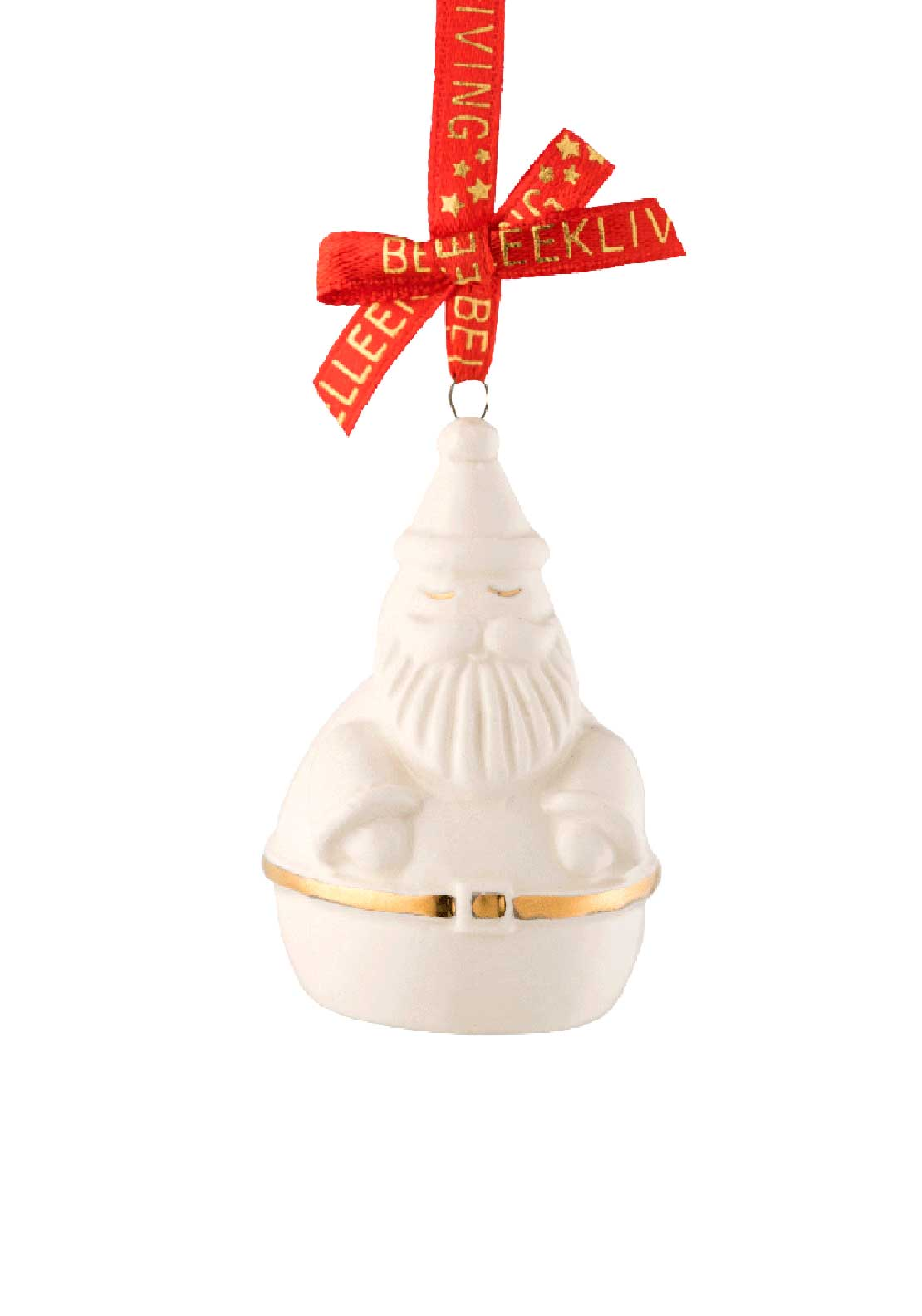 Belleek Living Christmas Treasures Santa Tree Decoration