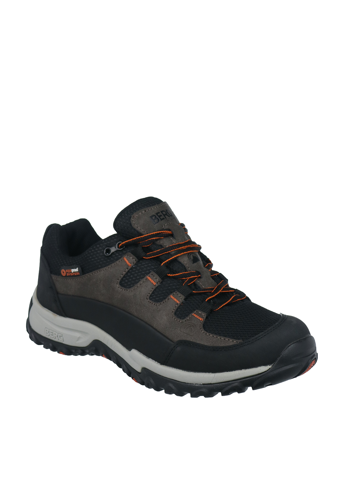 Berg Outdoor Mens Wallaroo Laced Sneakers, Brown