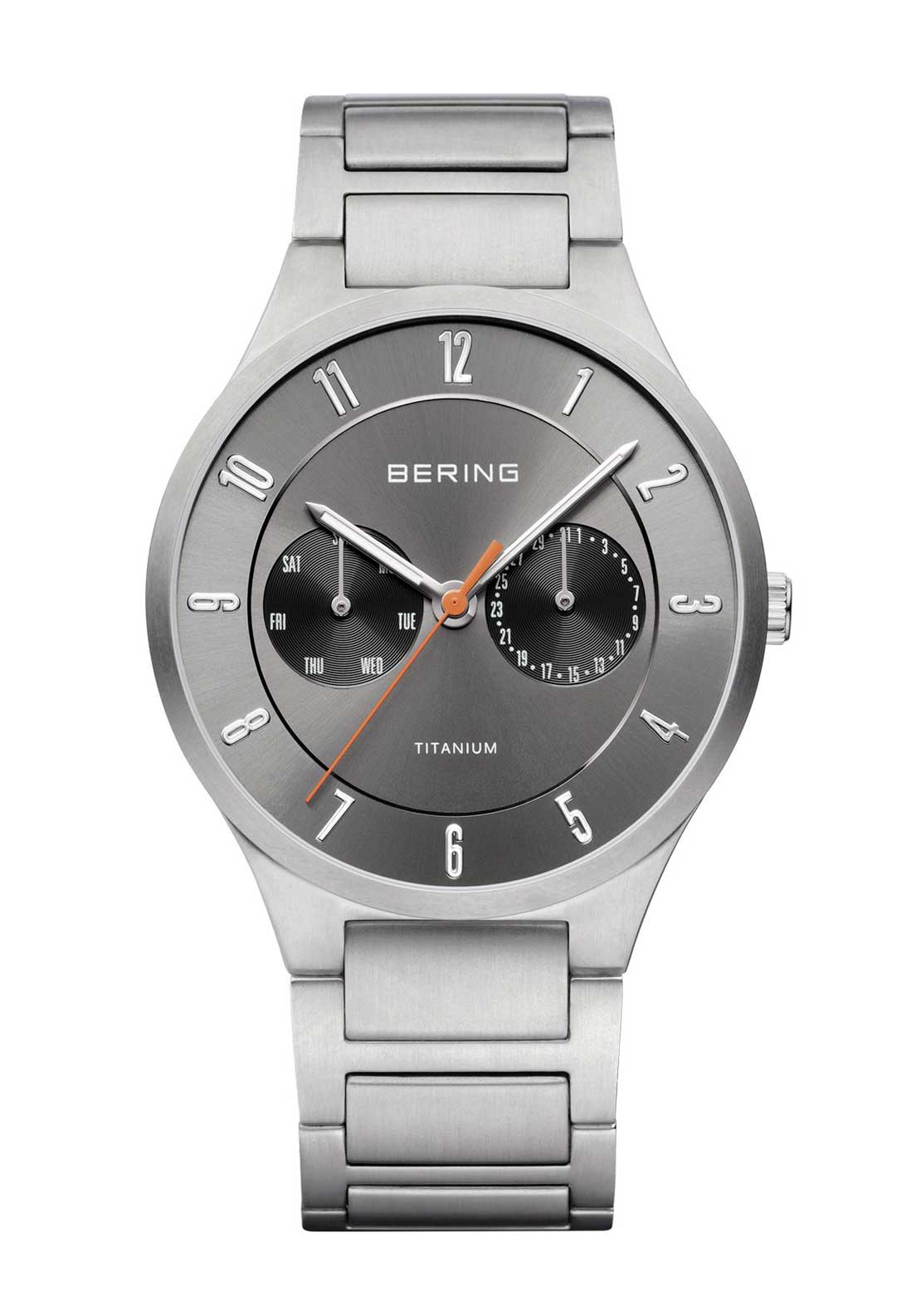 Bering Mens Classic Watch, Silver