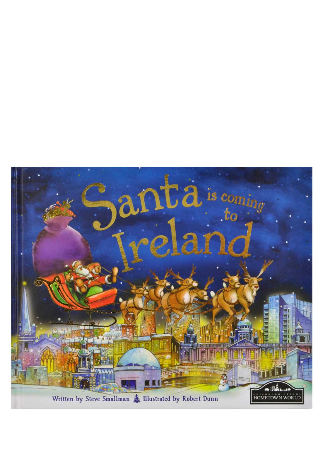 Hometown World Santa is coming to Ireland Christmas Story Book