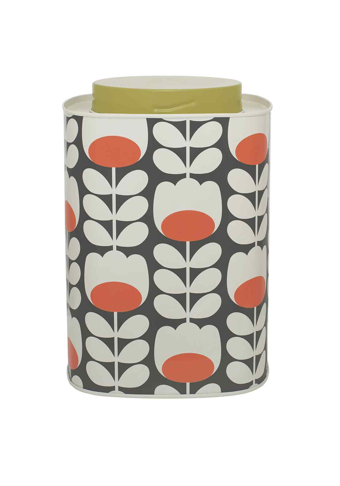 Orla Kiely Tulip Caddy, Navy Multi