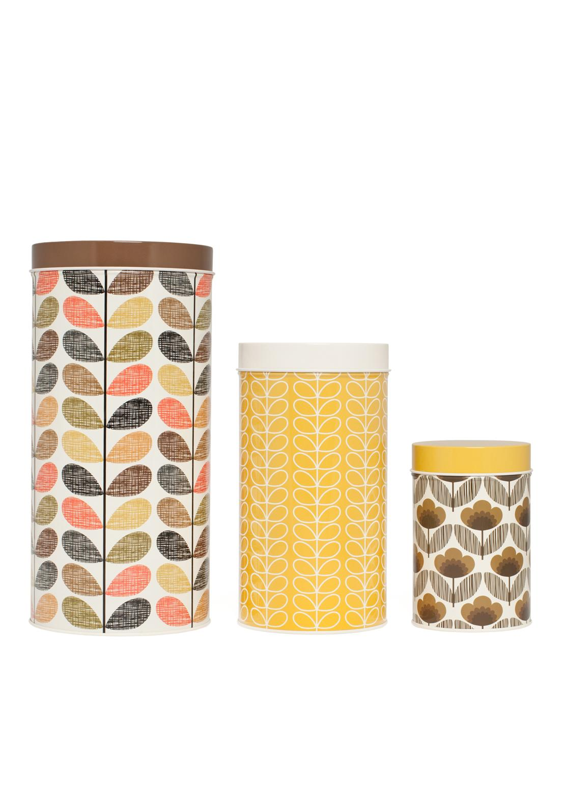 Orla Kiely Multi Stem Canister, Set of 3