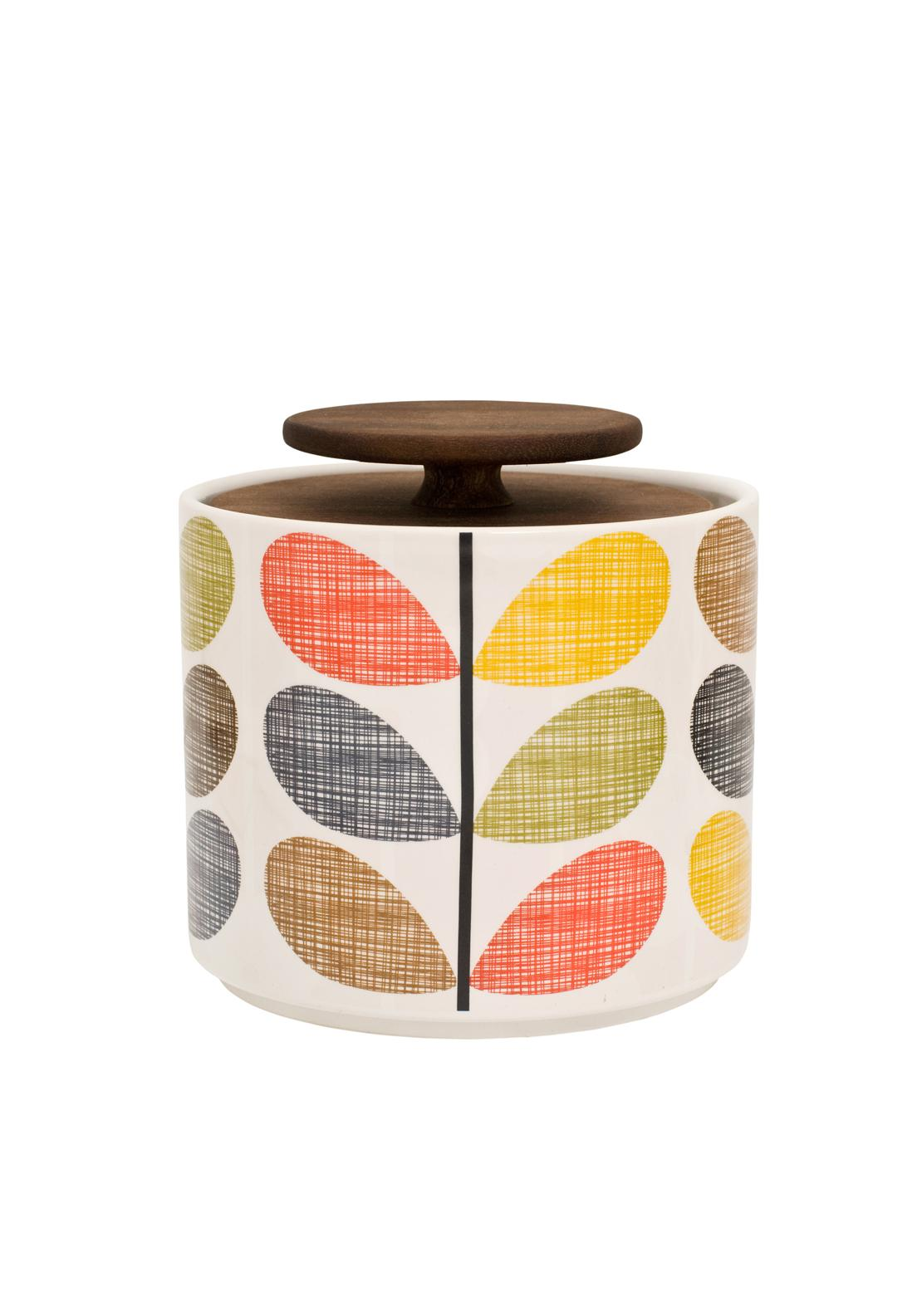 Orla Kiely Multi Stem Storage Jar, 1L