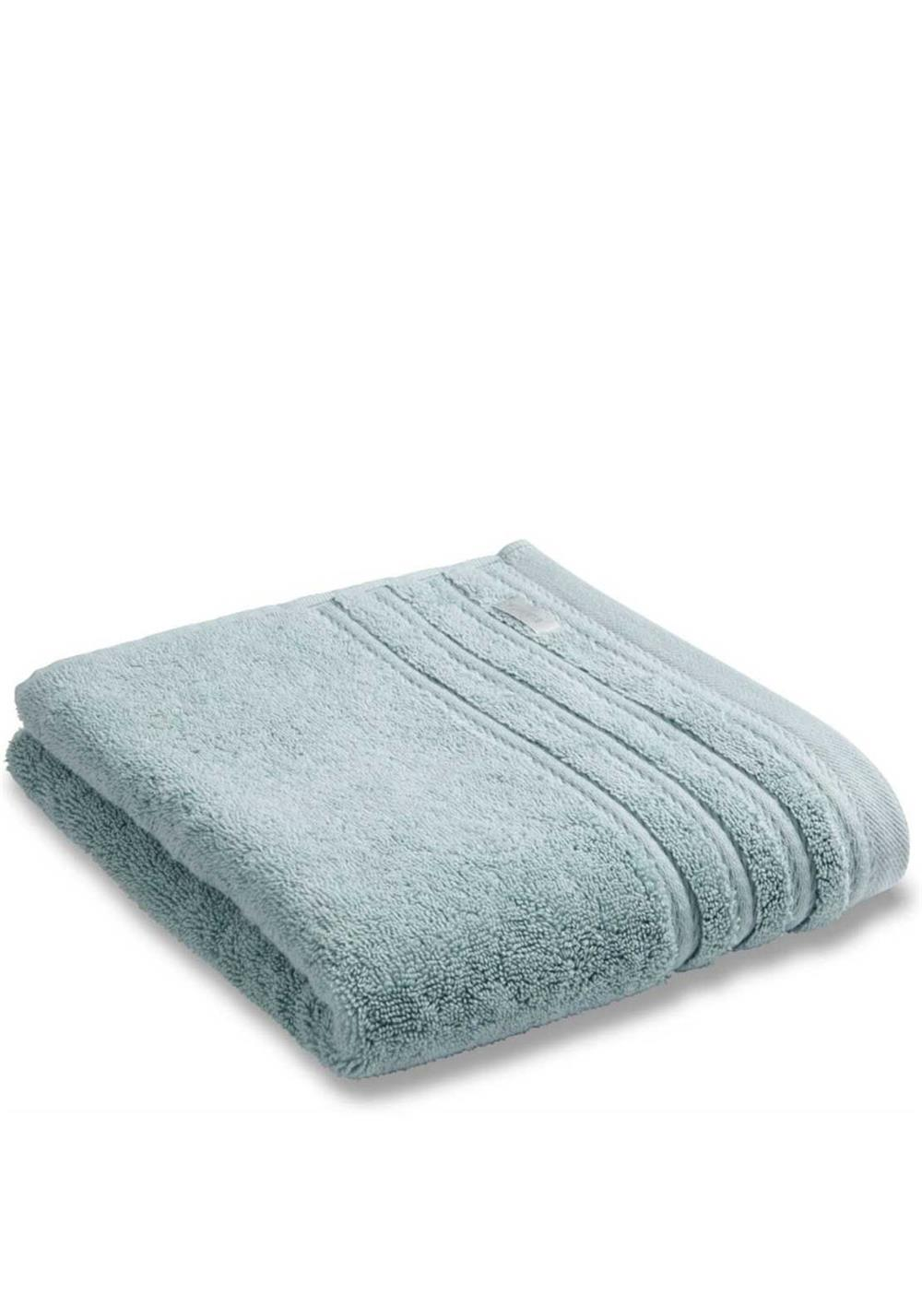 Bianca Combed Cotton Towel Range, Duck Egg Green