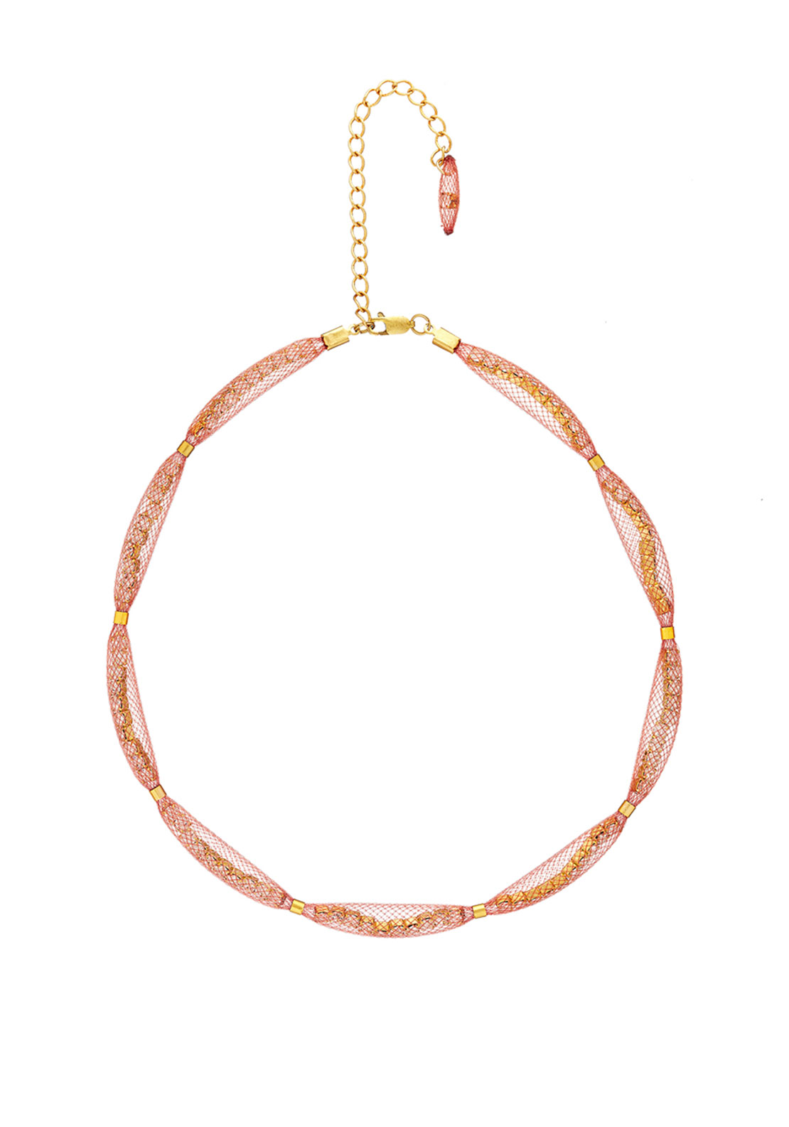 Blaithin Ennis Topaz Necklace, Blush Gold