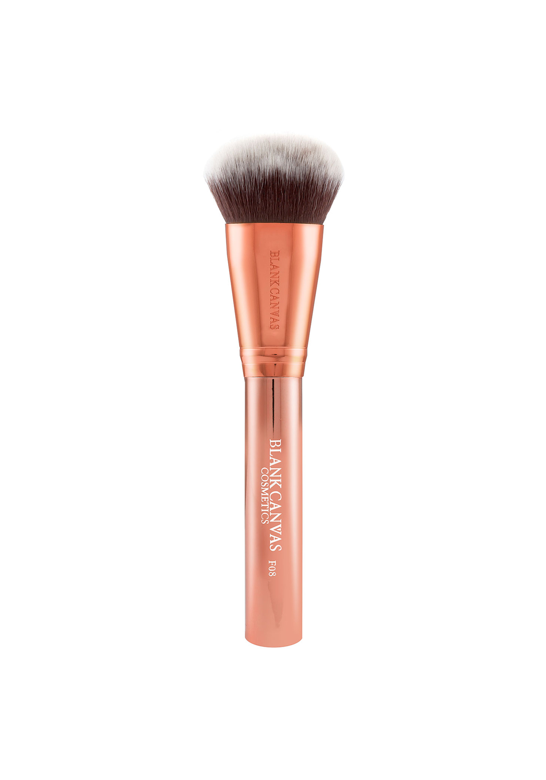 Blank Canvas Cosmetics F08 Rose Gold Dome Buffing Brush