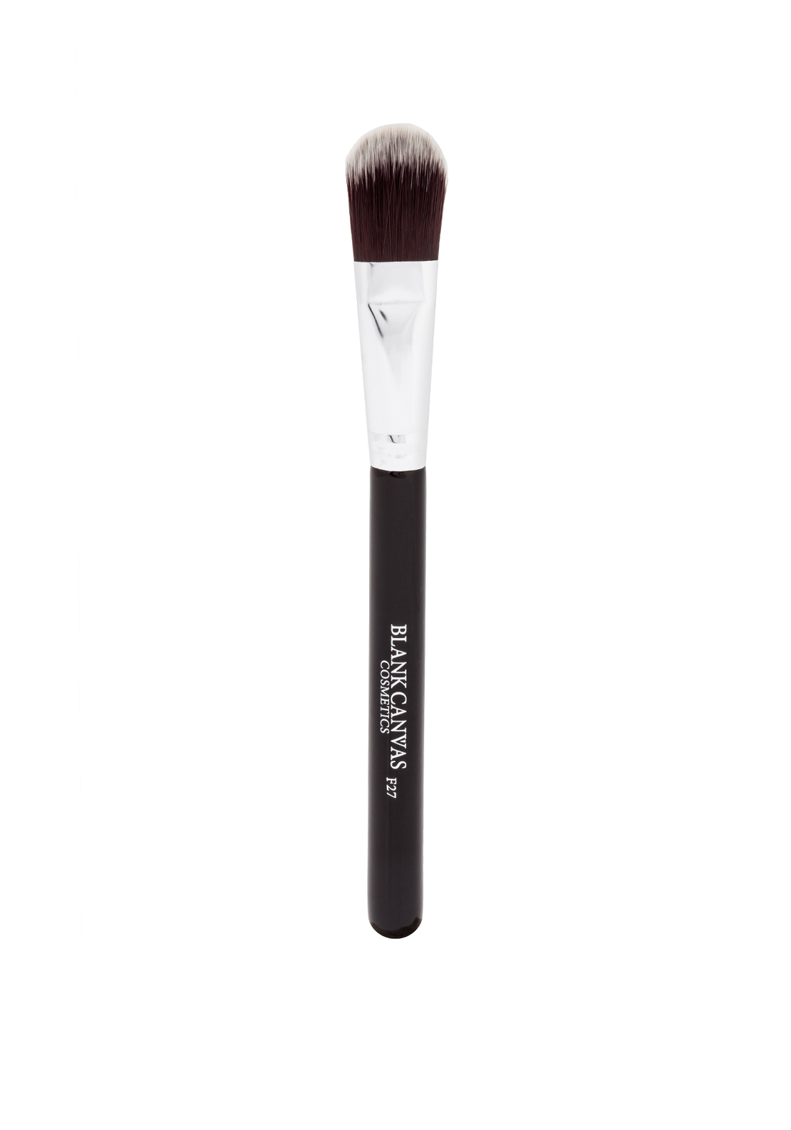 Blank Canvas Cosmetics F27 Flat Foundation Brush, Painter Style