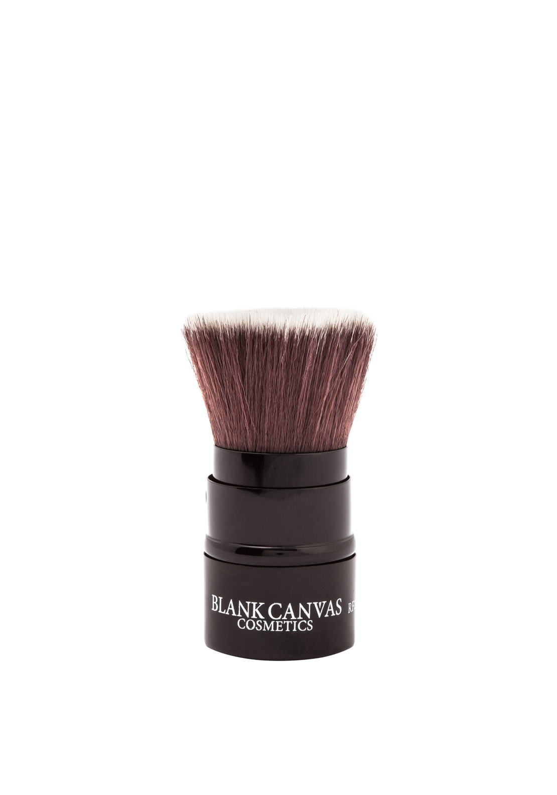 Blank Canvas Cosmetics RF20 Handbag Friendly Face Brush, Black