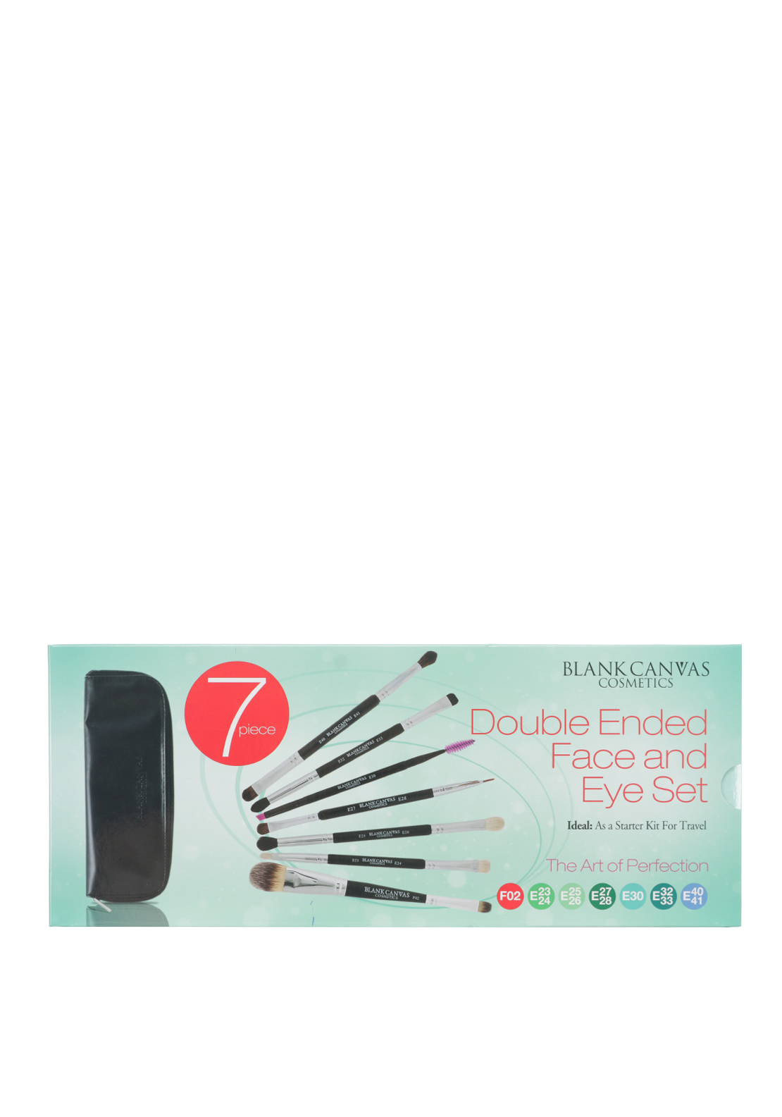 Blank Canvas Cosmetics 7 Piece Double Ended Face and Eye Set
