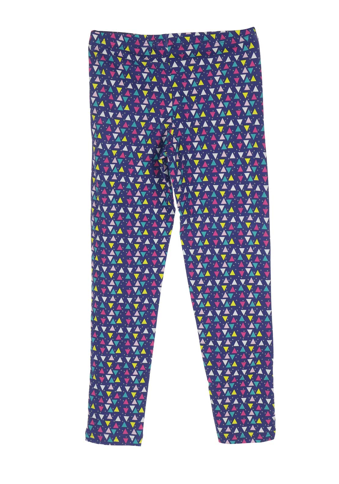 Blue Seven Girls Geo Print Leggings, Multi-Coloured