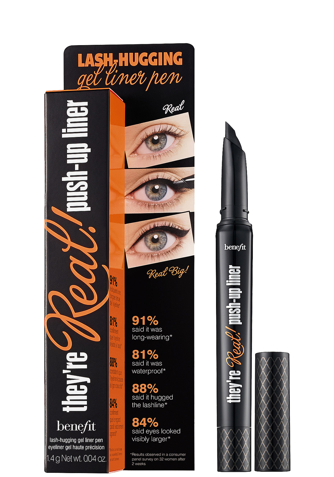 Benefit They're Real Push-Up Liner, Beyond Black