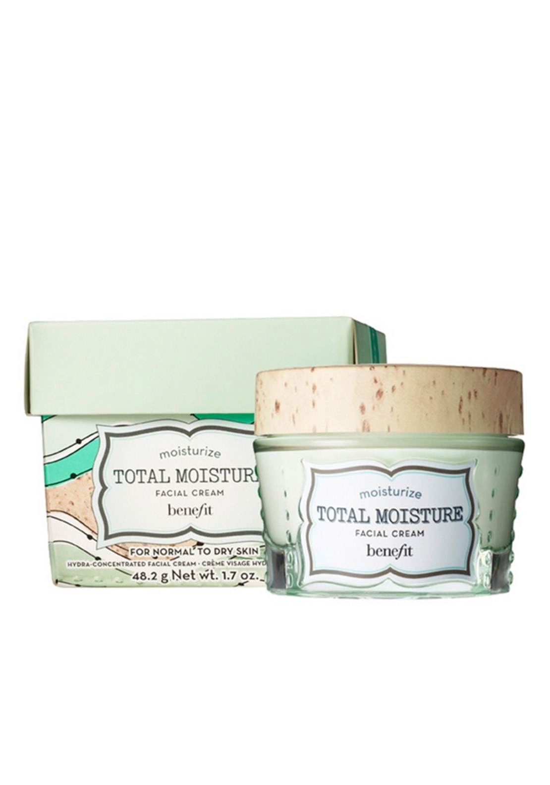 Benefit Total Moisture Facial Cream, Normal to Dry Skin