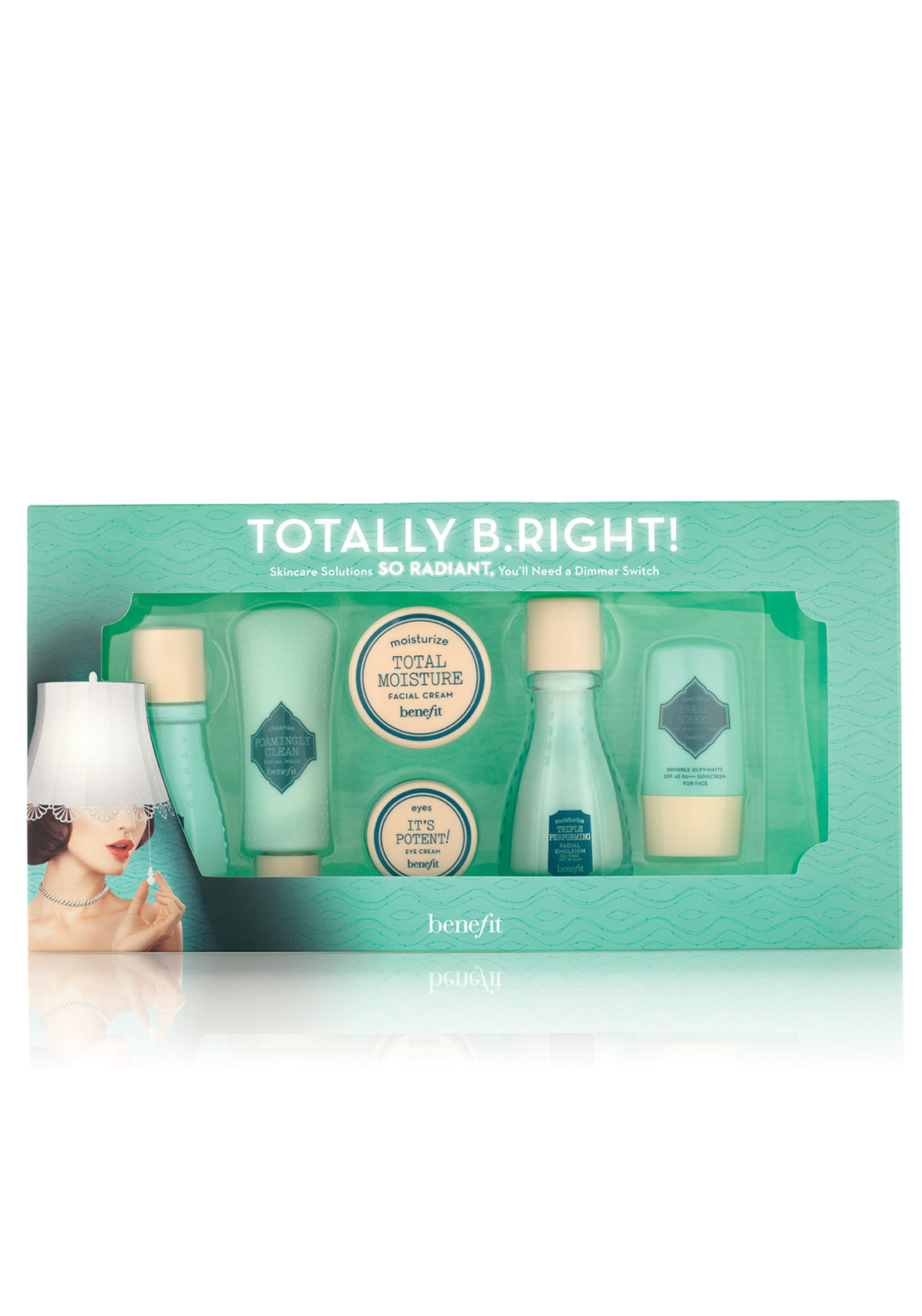 Benefit Totally B.Right! 6 Piece Skincare Set