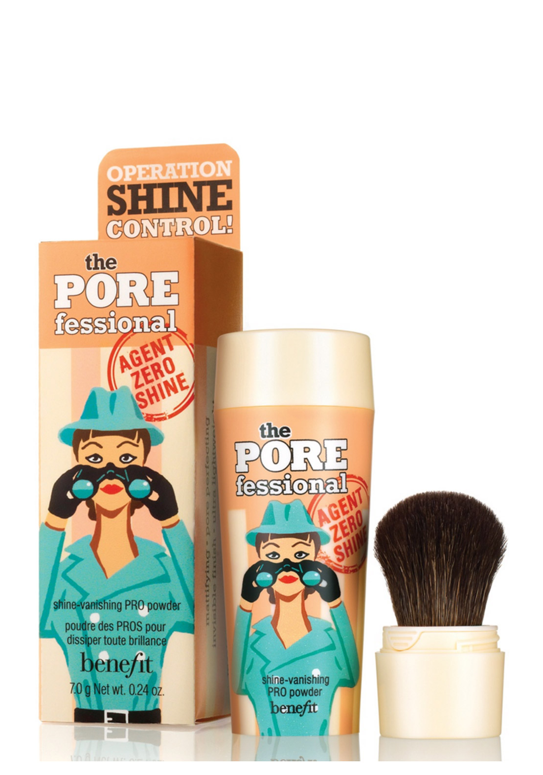 Benefit The POREfessional Agent Zero Shine Shine Vanishing PRO Powder