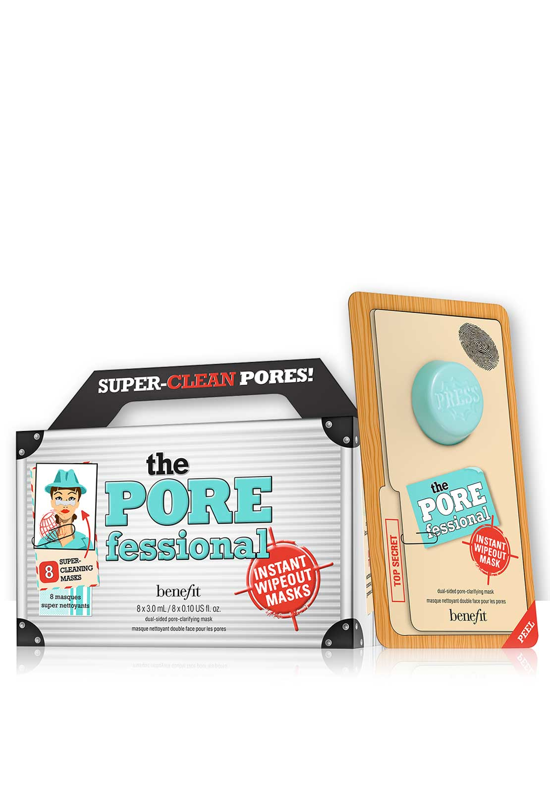 Benefit The POREfessional 8 Super Cleaning Pore Face Masks