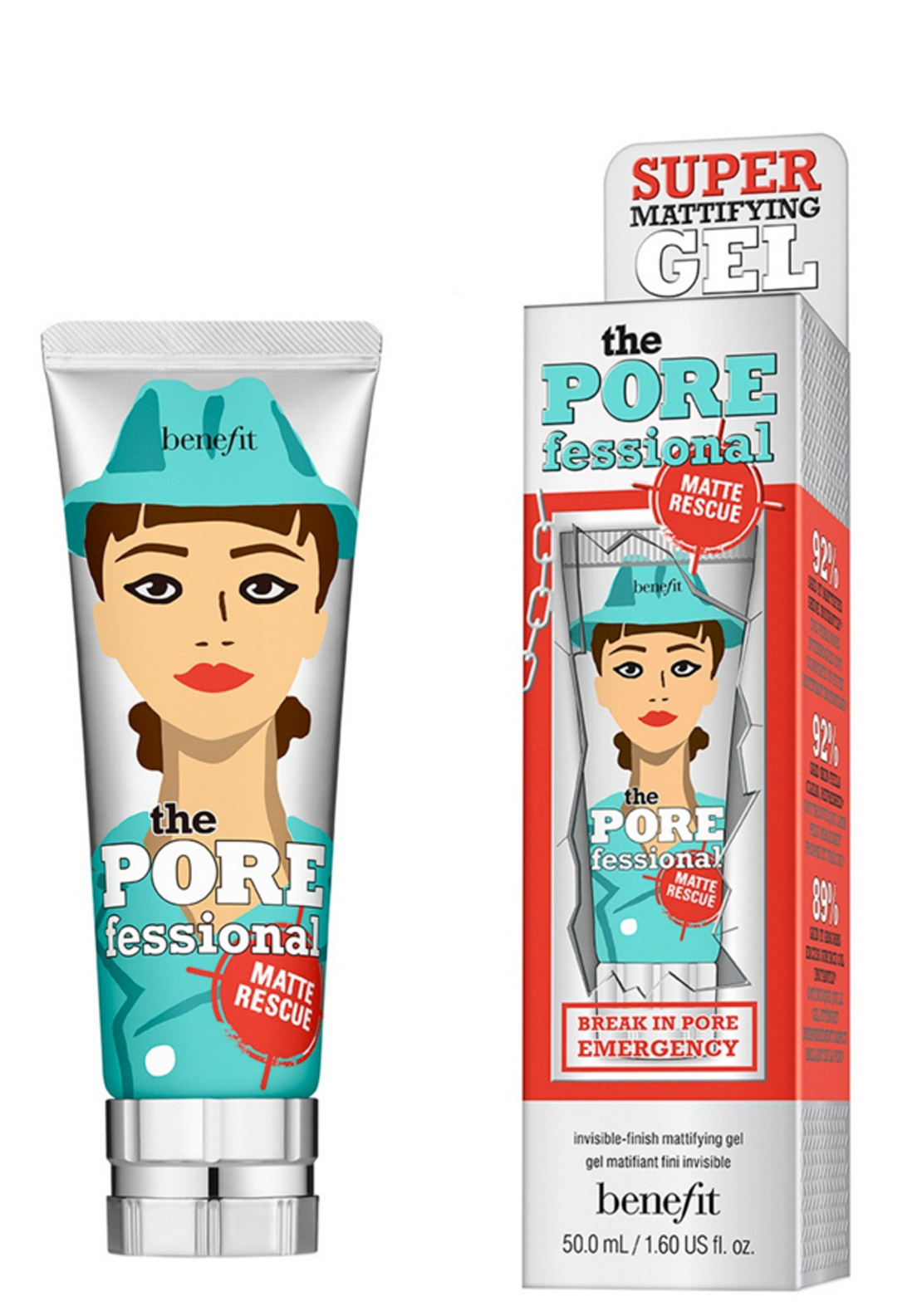 Benefit The POREfessional Matte Rescue Invisible Finish Mattifying Gel