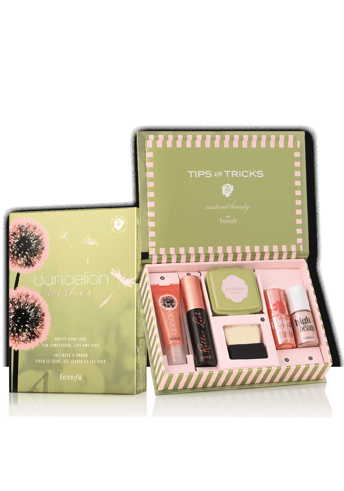 Benefit Dandelion Wishes Complexion, Lips and Eyes Kit