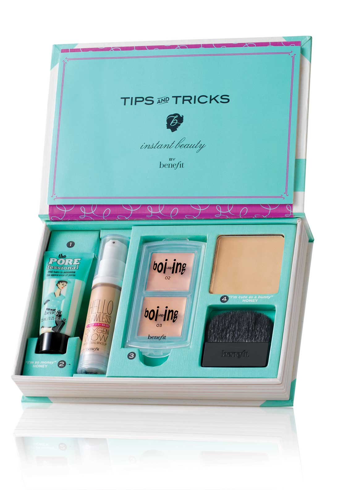 Benefit How To Look The Best At Everything Flawless Complexion Make-Up Kit, Medium