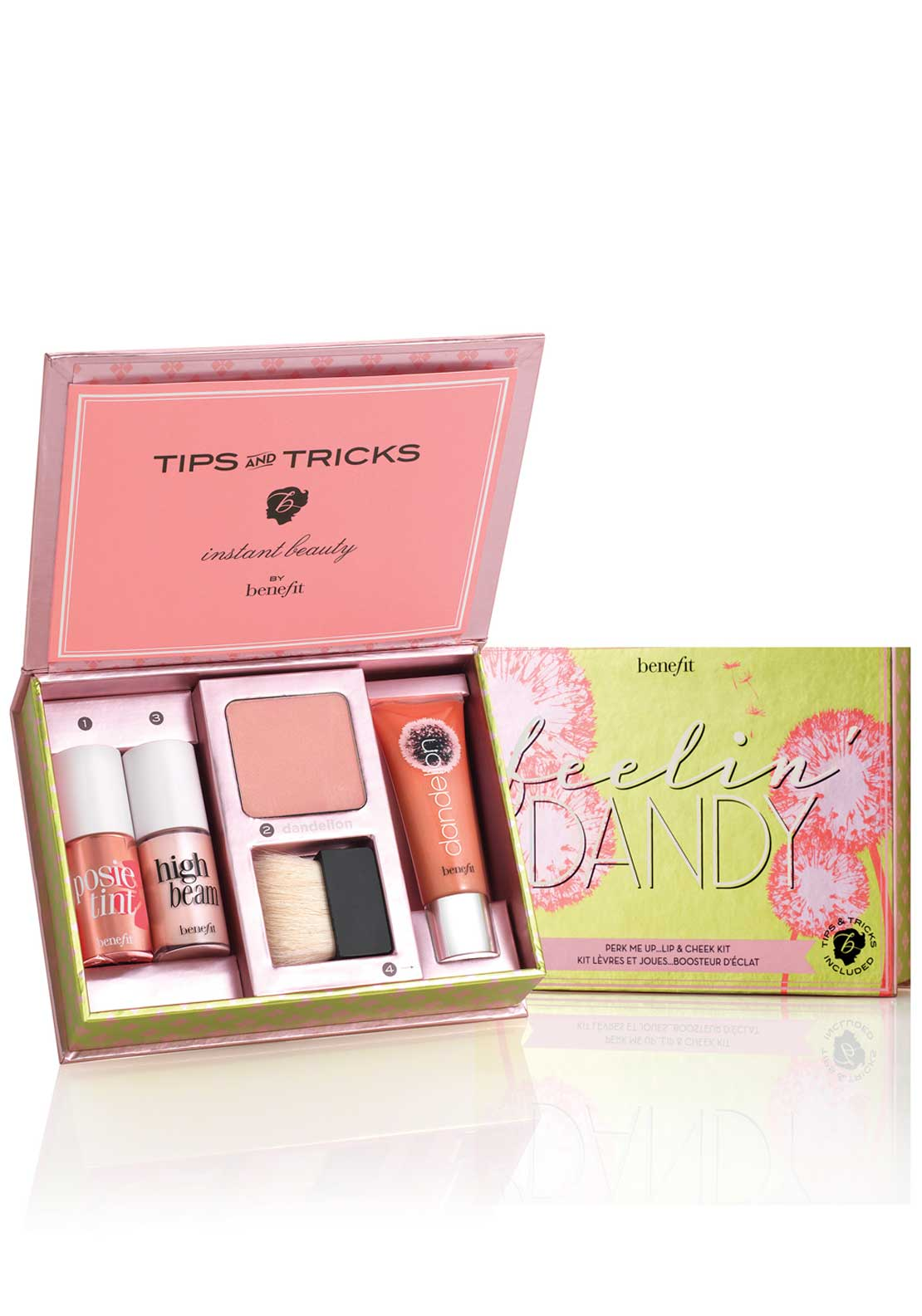 Benefit Feelin' Dandy Perk Me Up Lip and Cheek Kit