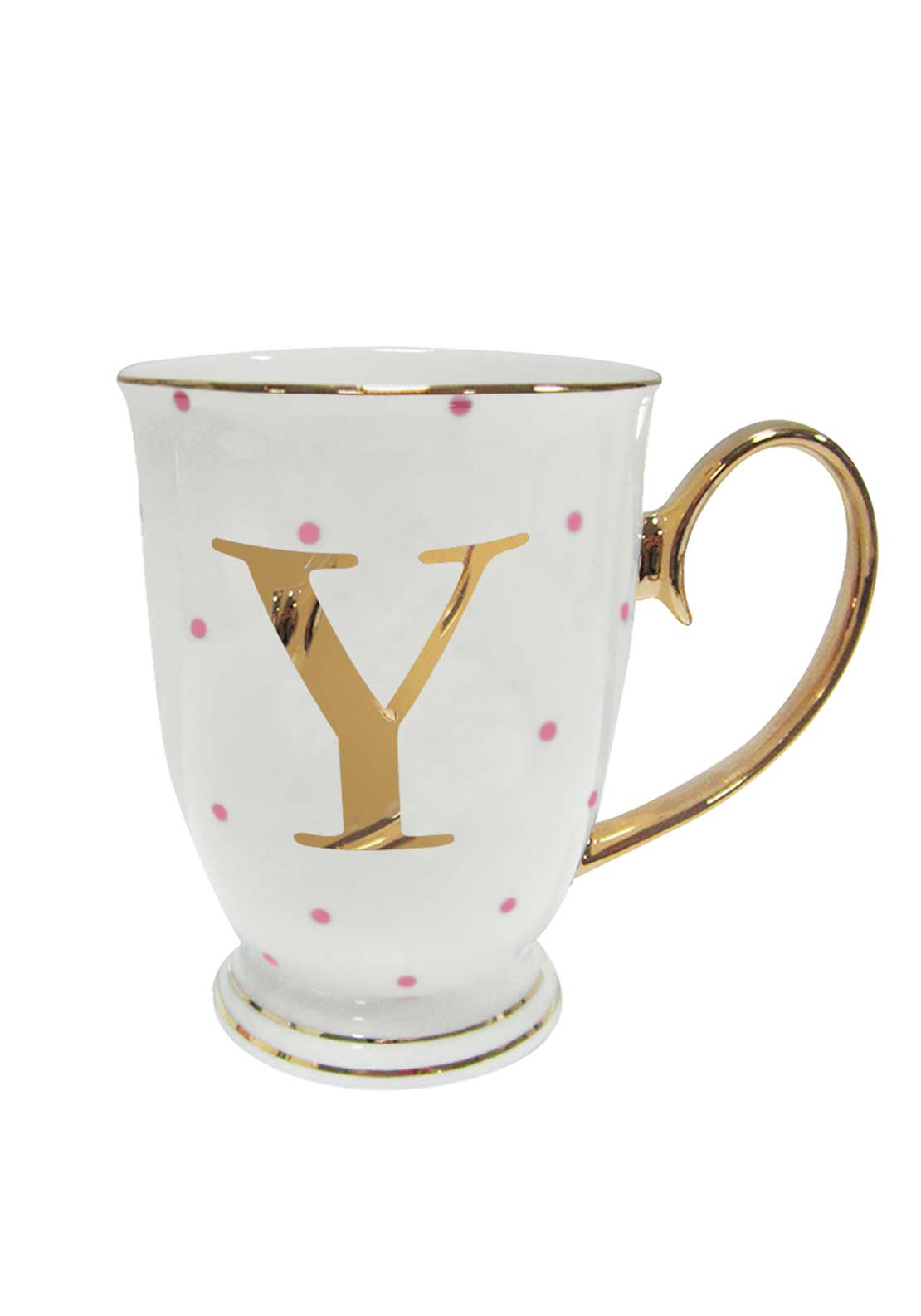 Bombay Duck Alphabet Spotty Mug, Y