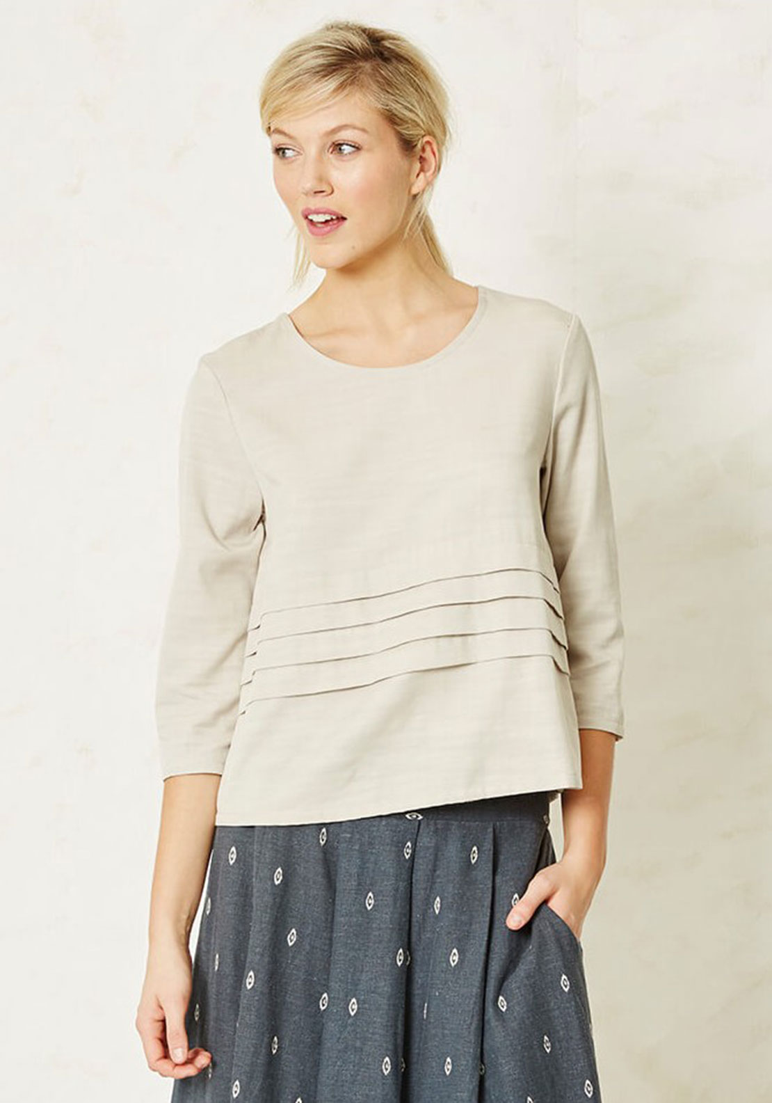 Braintree Wyeth Relaxed Fit Top, Stone