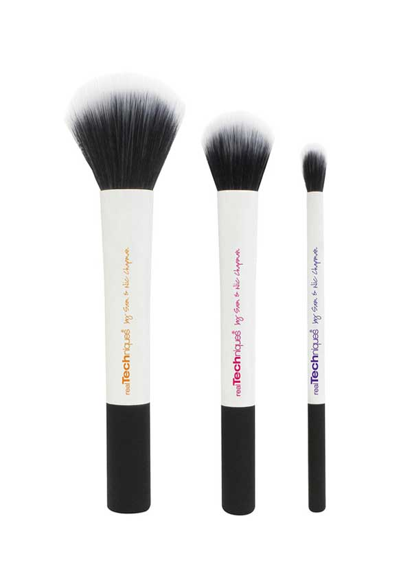 Real Techniques Duo-Fibre Collection Make-up Brushes