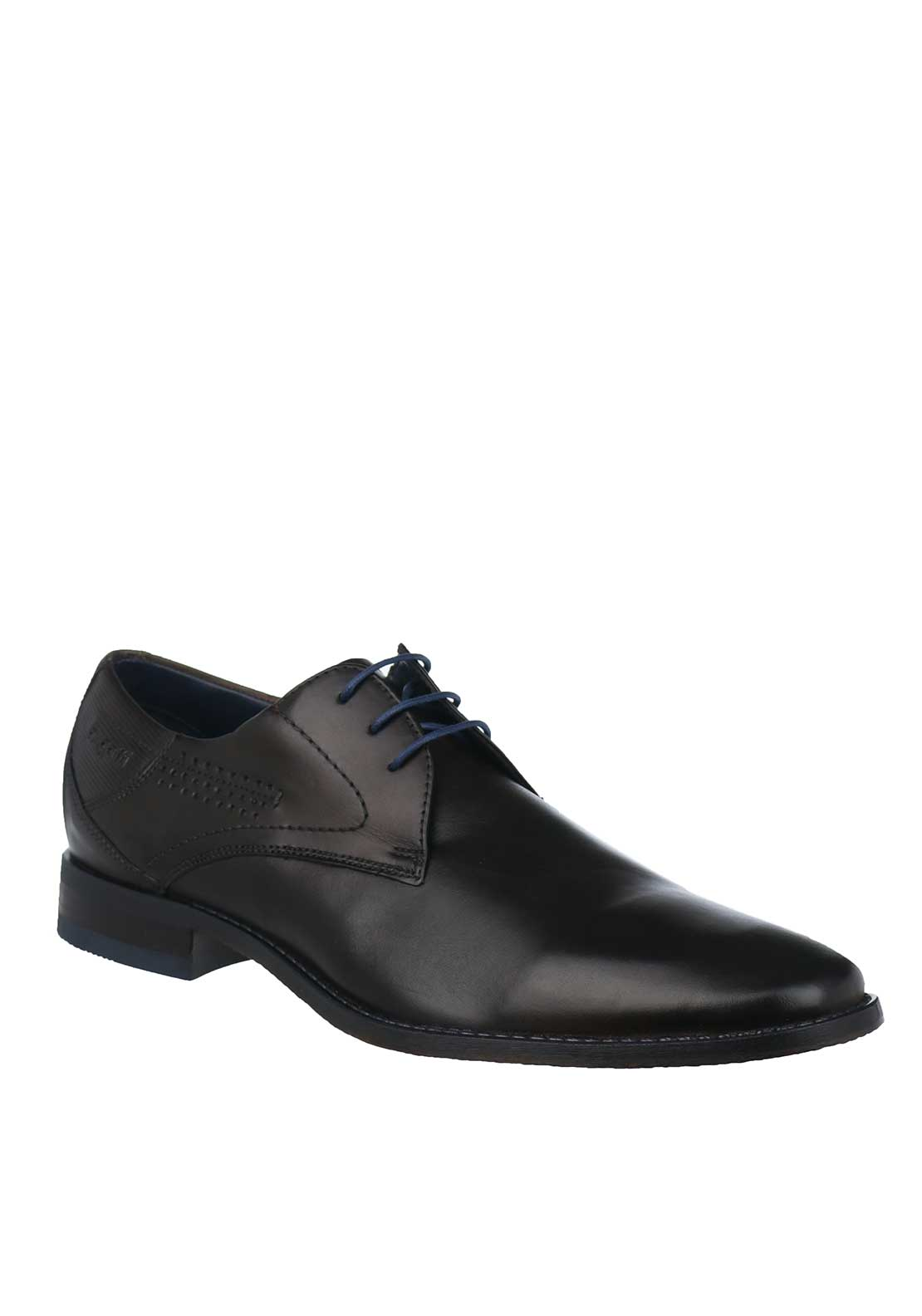 Bugatti Leather Formal Shoes, Dark Brown