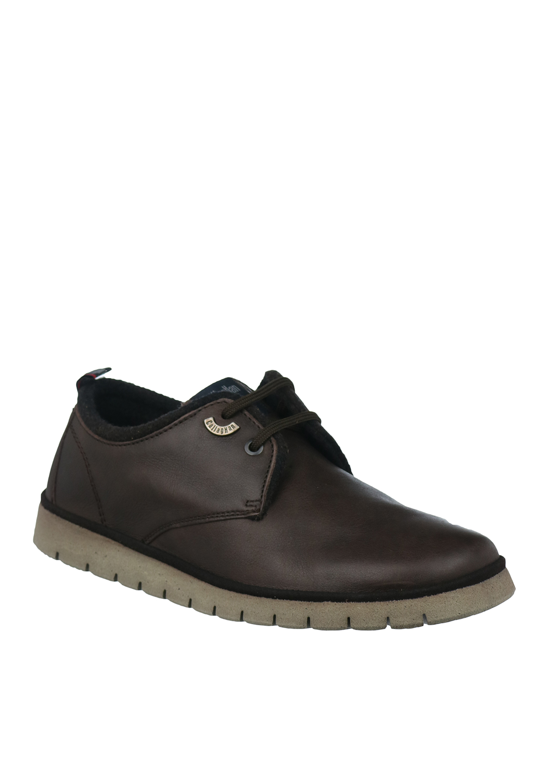 Callaghan Leather Lace Up Shoe, Brown
