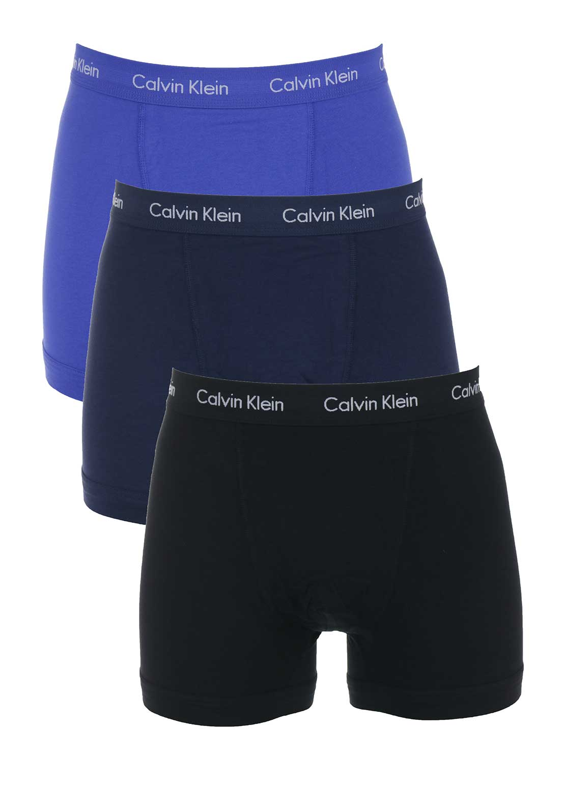 Calvin Klein 3 Pack Boxer Trunks, Multi-Coloured