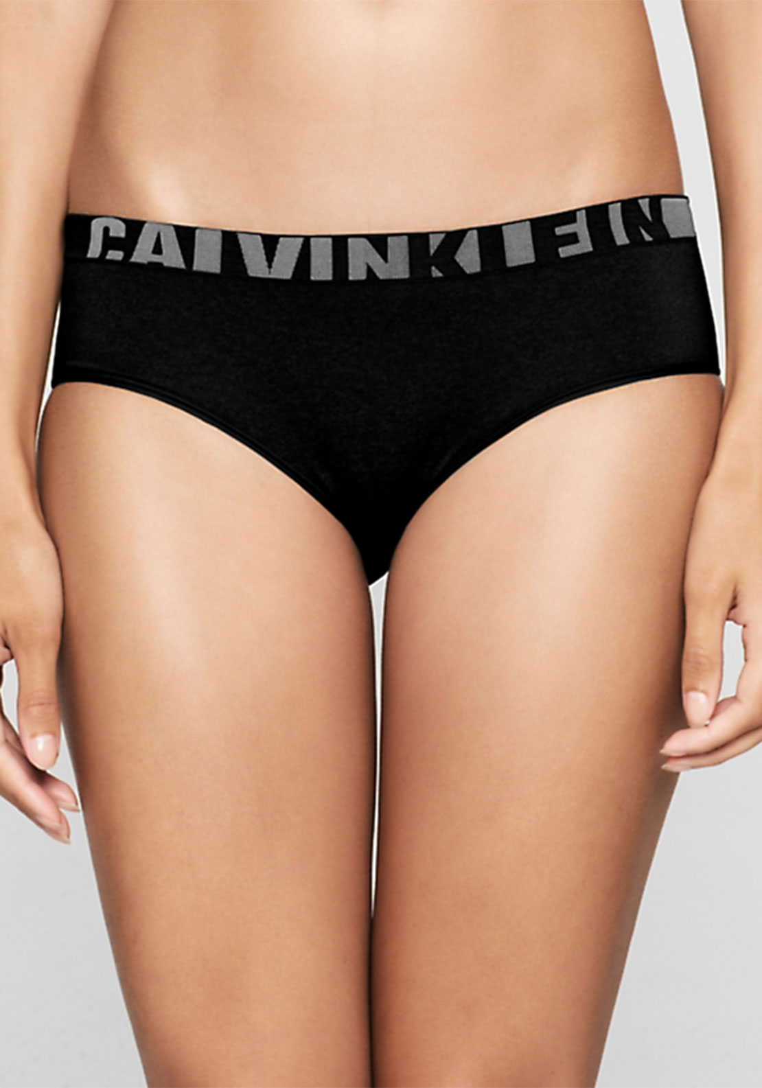 Calvin Klein Logo Band Brief, Black