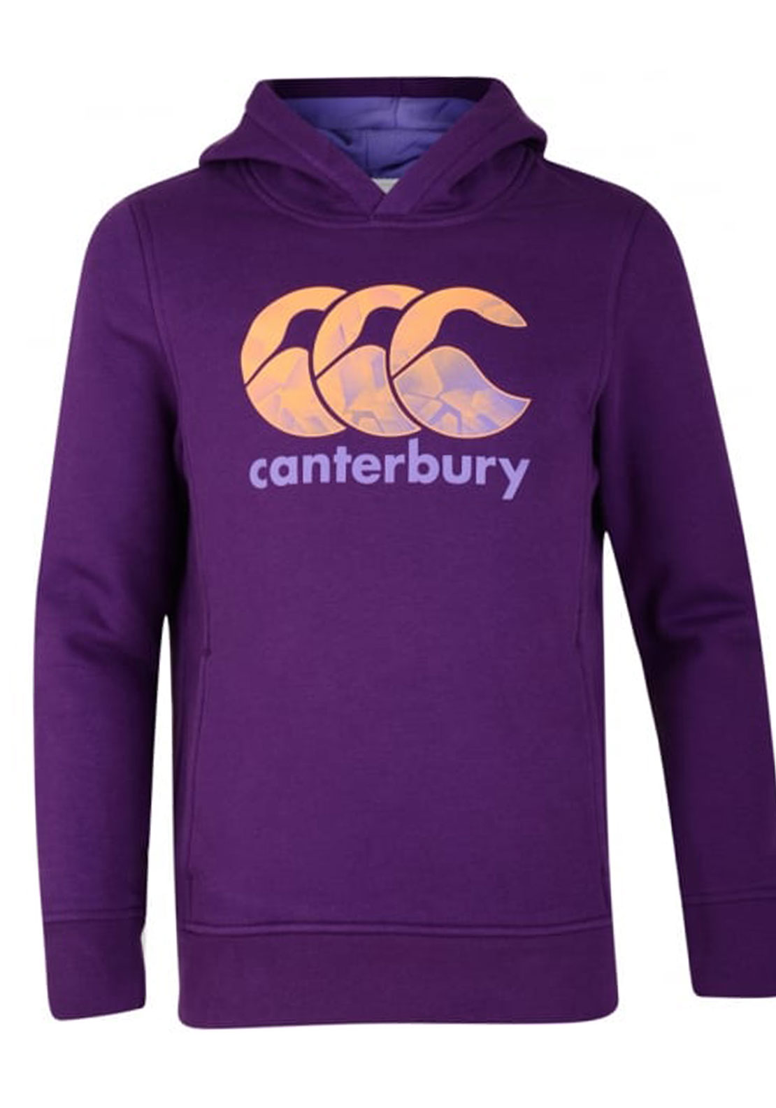 Canterbury Girls Princess Seam Hoodie, Purple