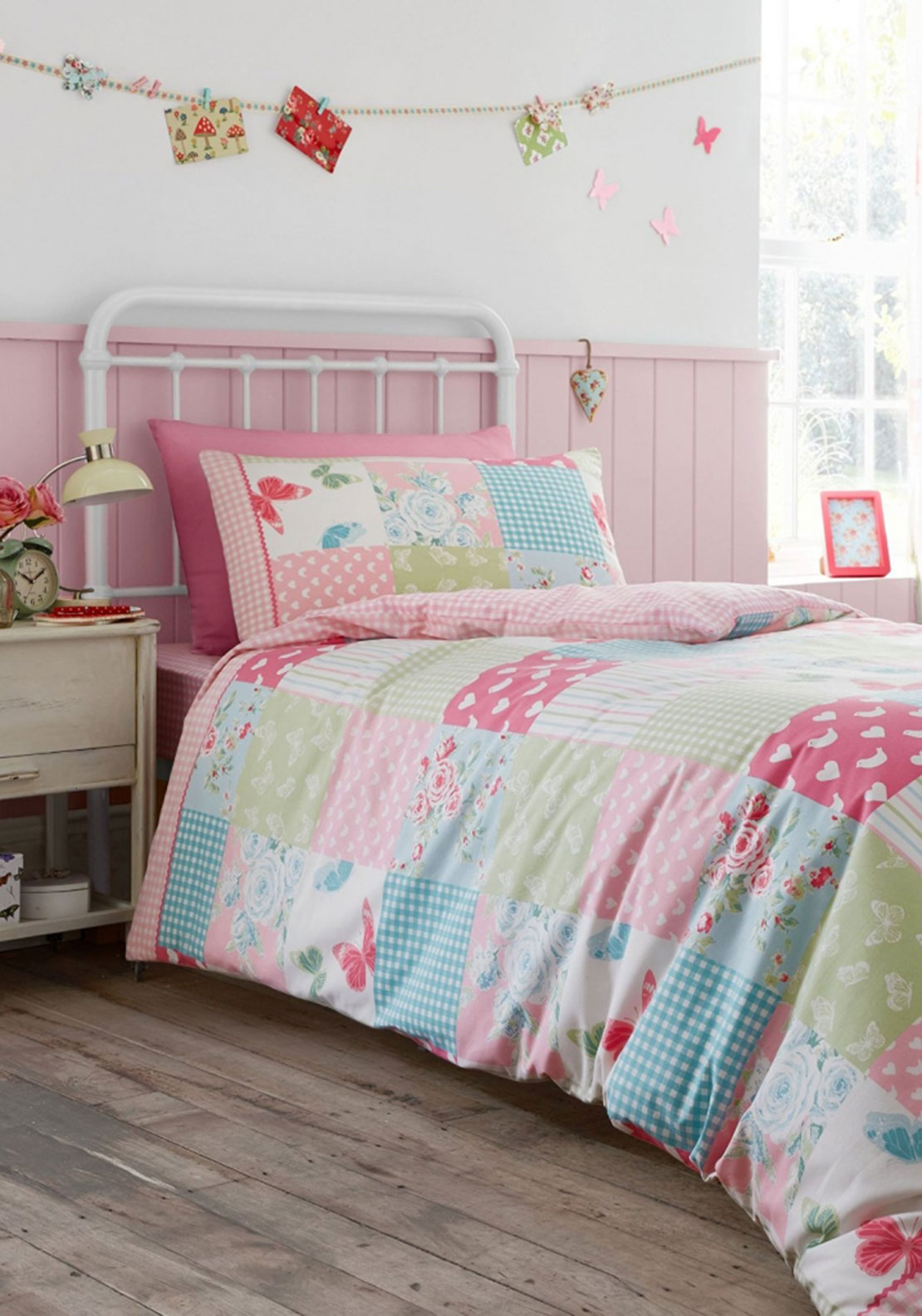 Catherine Lansfield Kids Patchwork Duvet Cover Set
