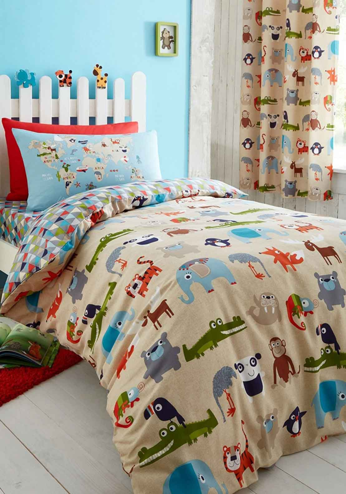 Catherine Lansfield Animal Kingdom Duvet Set