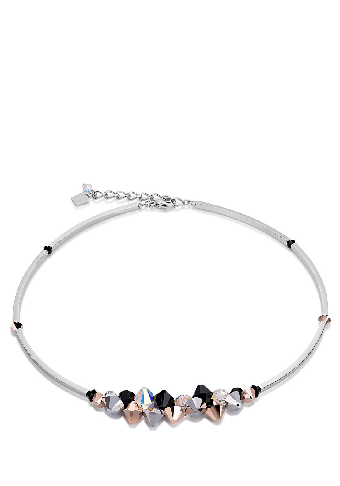 Coeur de Lion Swarovski® Crystals Collier Necklace, Black