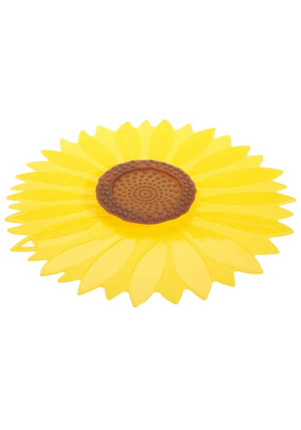 Charles Viancin Yellow Sunflower Large Silicone Lid, 11""