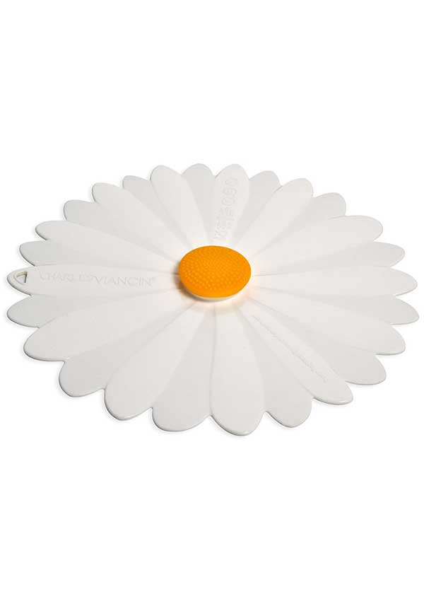 """Charles Viancin Daisy Silicone Lid, 9"""""""