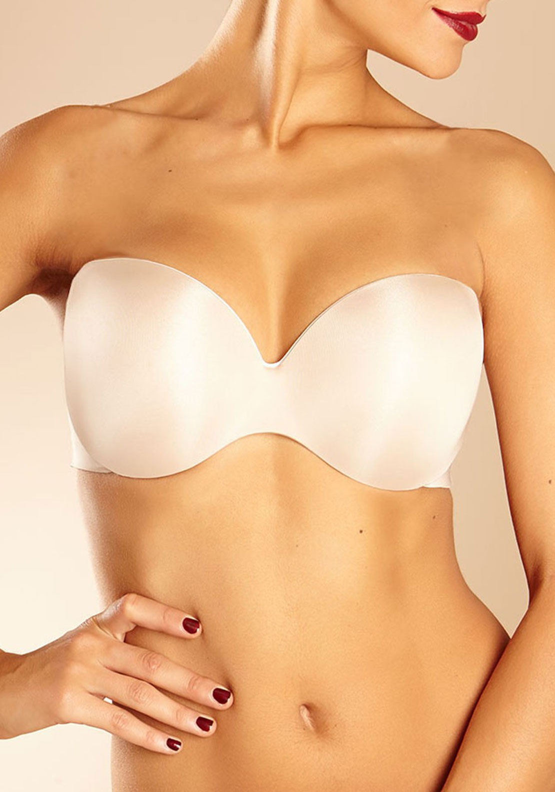 Chantelle Irresistible Multiway Strapless Bra, Nude