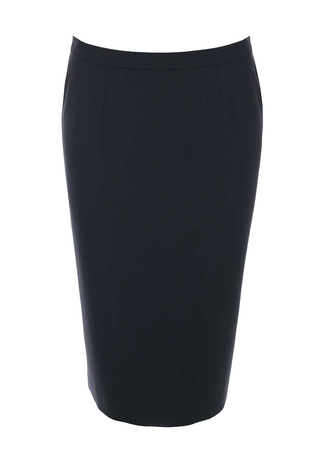 Christina Felix Straight Skirt, Charcoal Grey