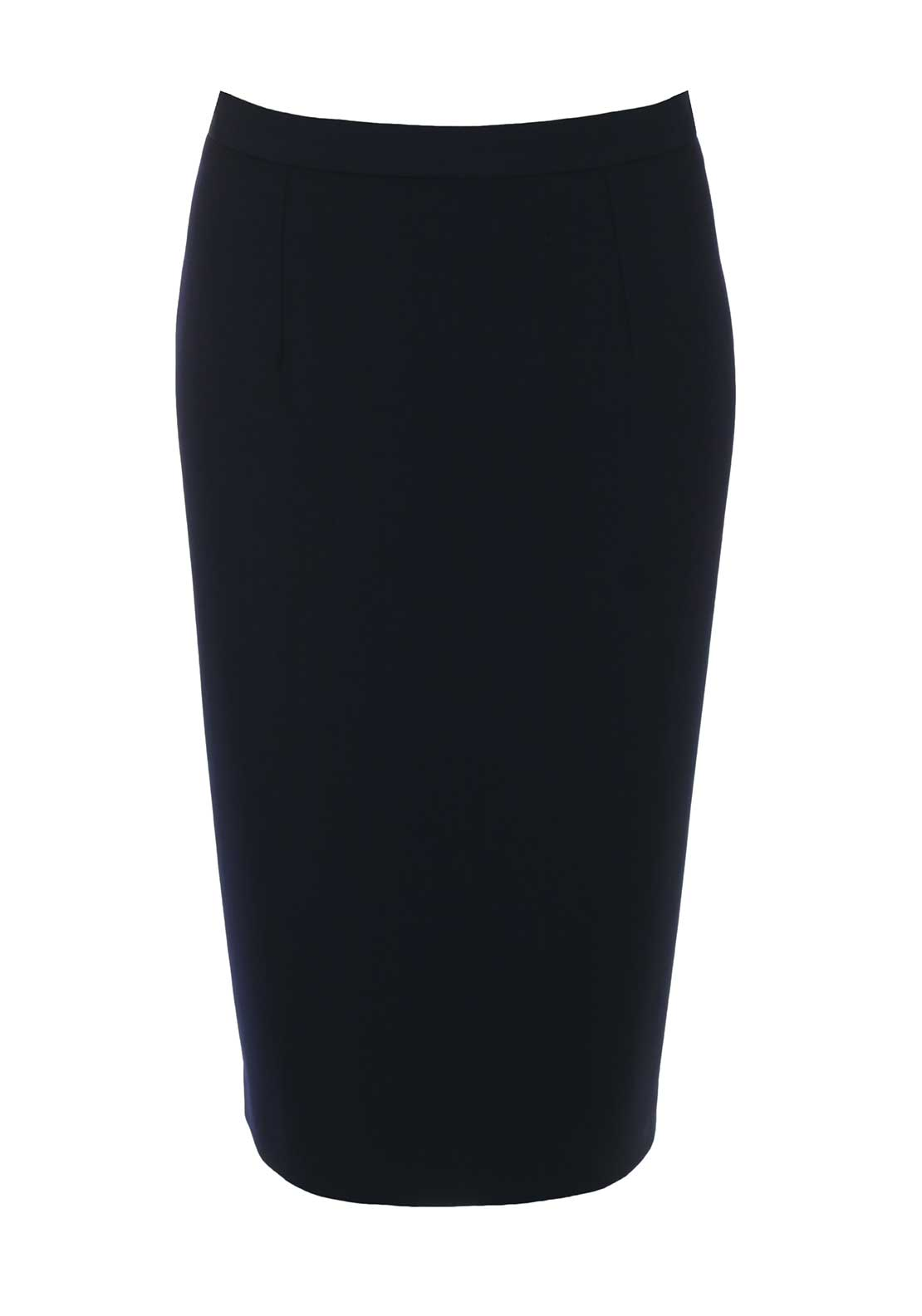 Christina Felix Straight Skirt, Navy
