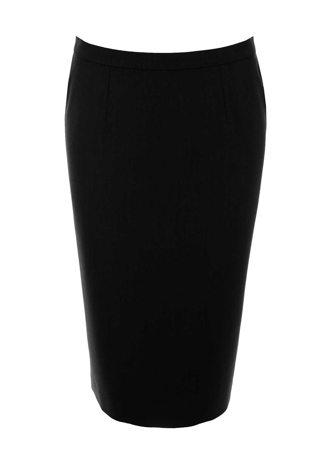 Christina Felix Straight Skirt, Black