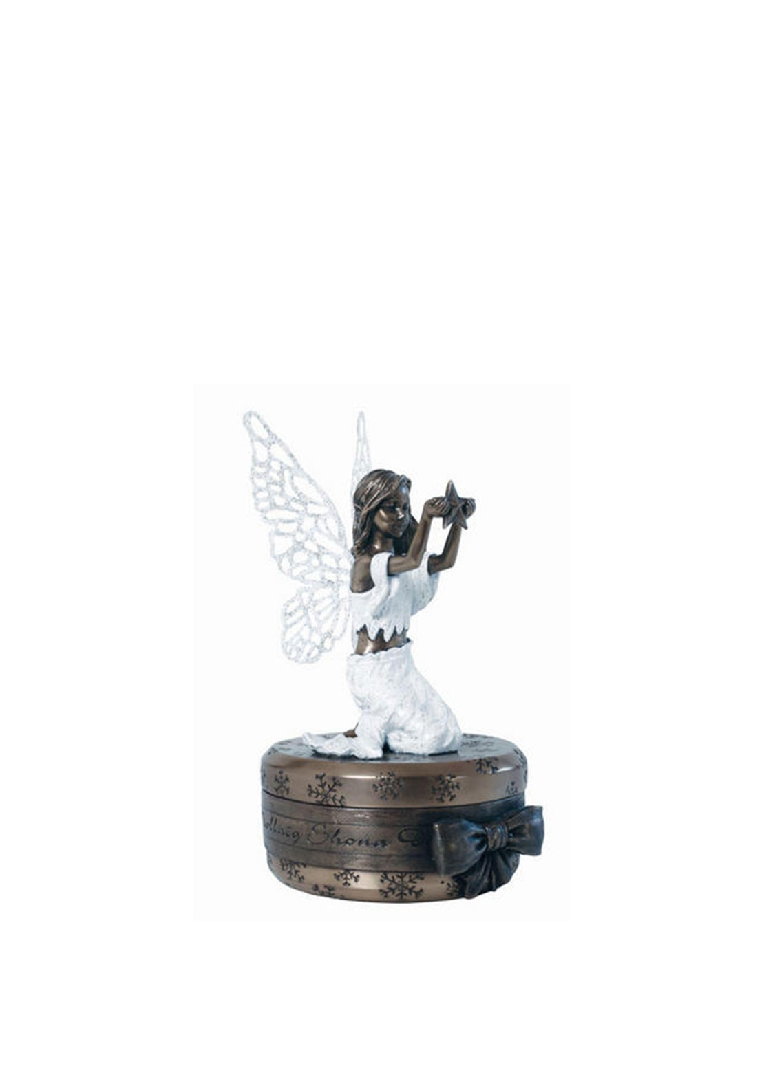 Genesis Christmas Fairy Star Tea Light Ornament