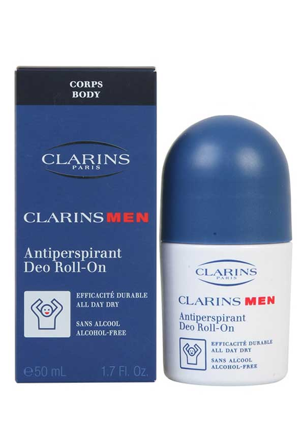 Clarins Men Anti-Perspirant Roll-On, 50ml