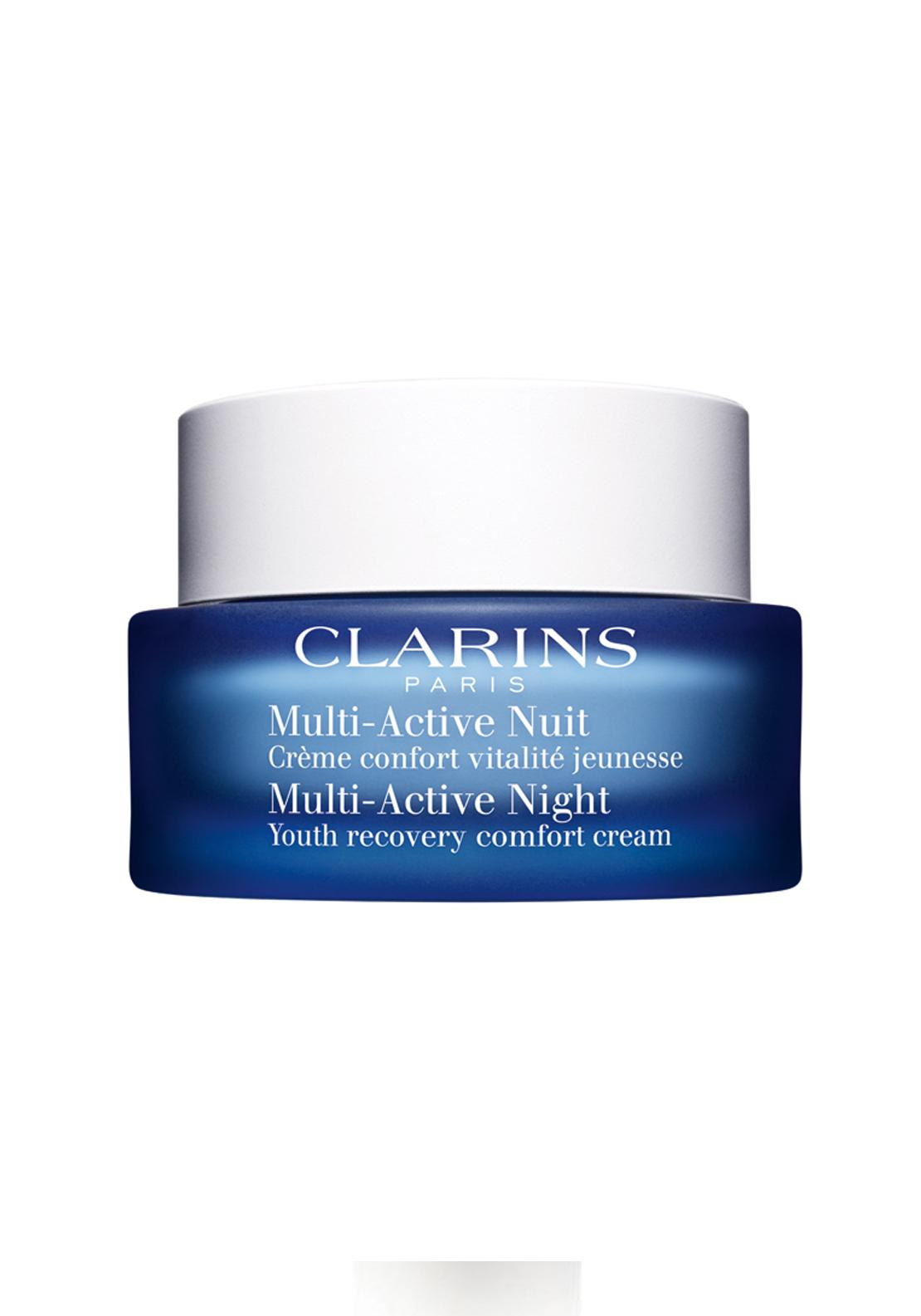 Clarins Multi-Active Night Youth Recovery Comfort Cream, Normal to Dry Skin 50ml